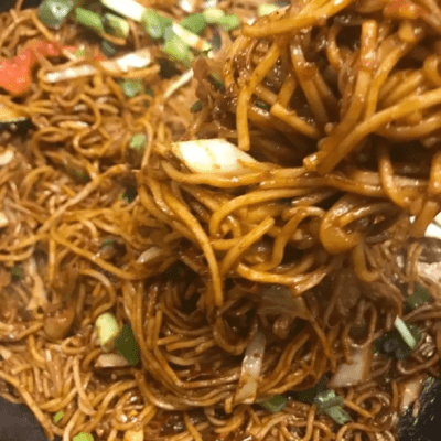 Hakka Noodles & Gobi Manchurian