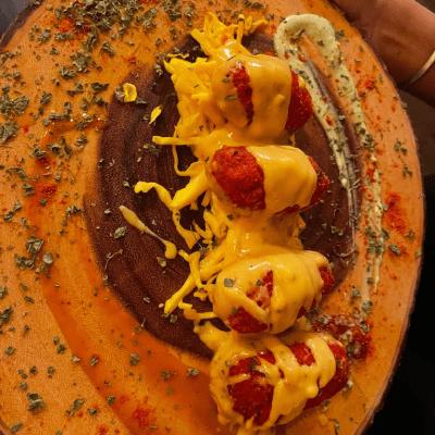 Mac & Cheese Pakoras
