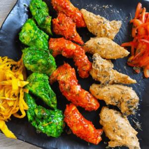 Chicken Tikka (Tandoori (or) Malai (or) Hariali)