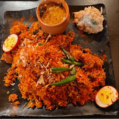 Chicken Biryani (Takeout)