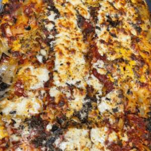 Slow Cooked Veg Lasagna